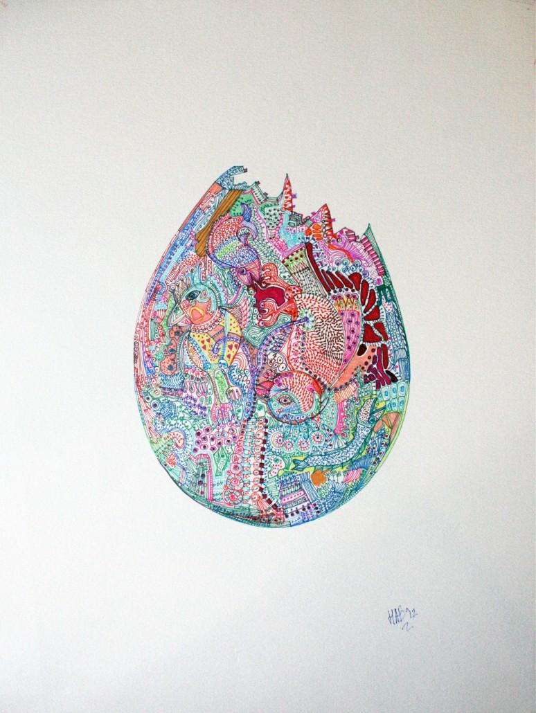 Hab Vandenwijngaard, Columbus Egg