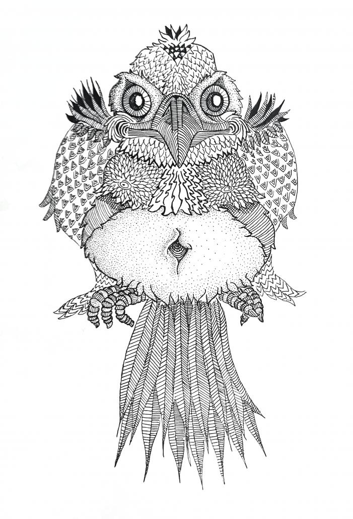 Floyd van den Wijngaard, Nighttime Bird