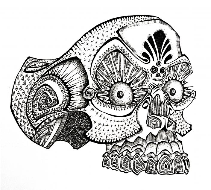 Floyd van den Wijngaard, Morte the Skull
