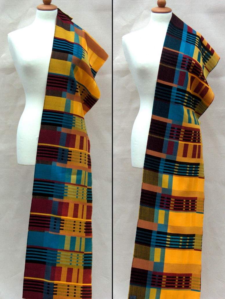 """Rockefeller Centre"" - Textile Art by Scarlett"