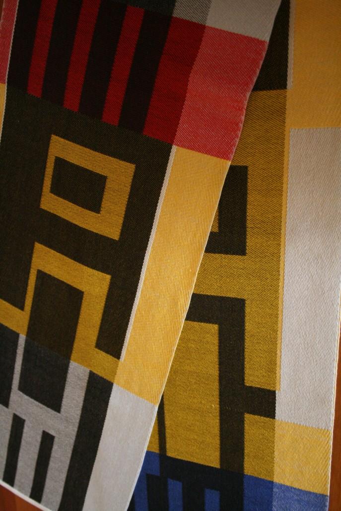 """Akira""- Textile Art by Scarlett"