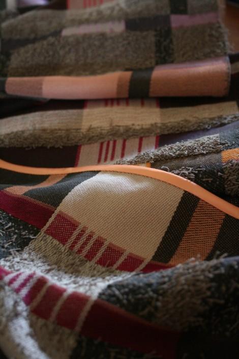 """Hengifoss"" - Textile Art by Scarlett"