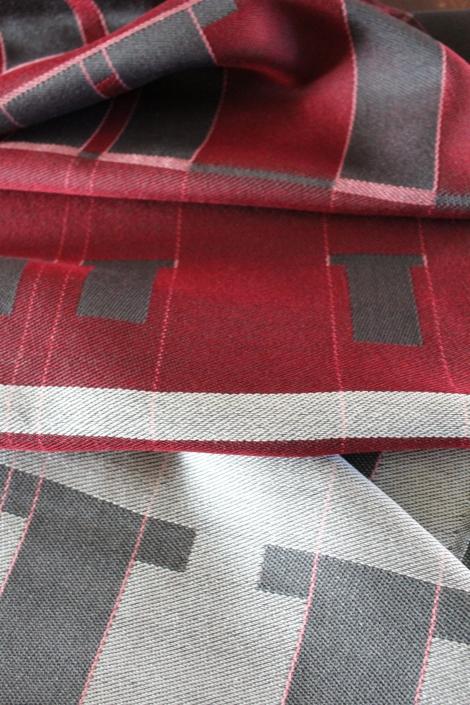 """Potala"" - Textile Art by Scarlett"