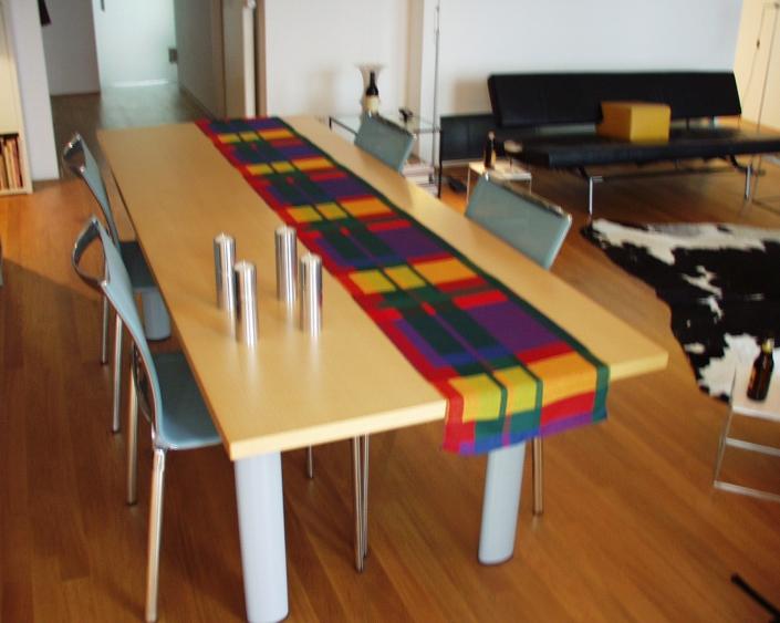 Table runner - Textile Art by Scarlett.